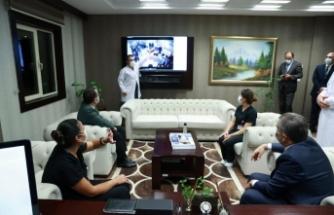 Sağlık Bakanı Dr. Fahrettin Koca Keçiören EAH Acil Servisini ziyaret etti