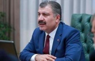 Sağlık Bakanı Fahrettin Koca, bugün İzmir'de.