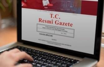 Atama Karaları Resmi Gazete'de