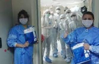 'Sağlık çalışanlarına 1500 lira ikramiye verilsin' önerisi