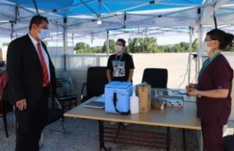İl Sağlık Müdürü Yıldırım, sağlık çalışanlarıyla bayramlaştı