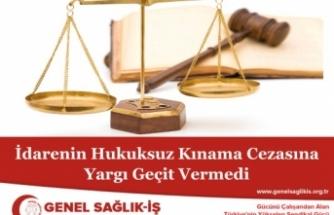 Doktora Verilen Disiplin Cezasını Mahkeme İptal Etti