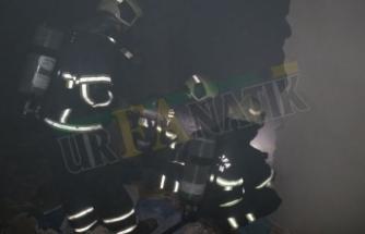 Şanlıurfa'da kapanan özel hastanede yangın