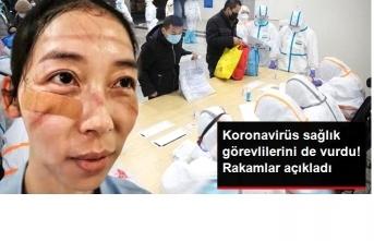 Koronavirus Sağlıkçıları da Vurdu ! Rakamlar Açıklandı