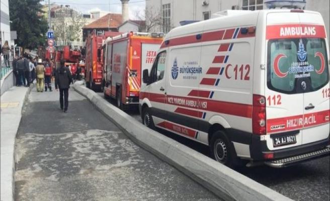 Cerrahpaşa Tıp Fakültesi Hastanesi Radyoloji bölümünde yangın paniğe yol açtı
