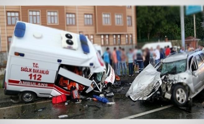 Ambulans şoförüne kazadan hapis cezası