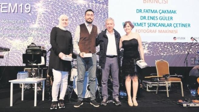 Keçiören Acil Servise Antalya'da ödül