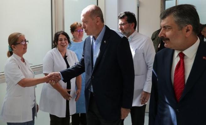 Cumhurbaşkanı Şehir Hastaneleri Hakkında Konuştu