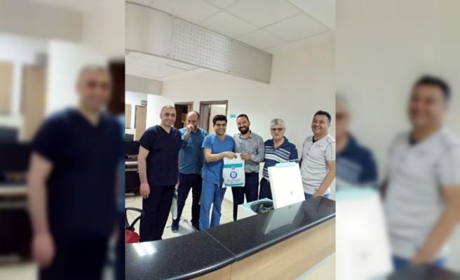 Nevşehir Sağlık-Sen Bayramda sağlık Çalışanlarını  Unutmadı