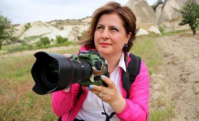Ödüllü fotoğrafçı hemşire