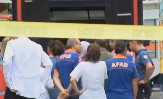 Bakanlık: 19 personel çıkan gazdan etkilendi