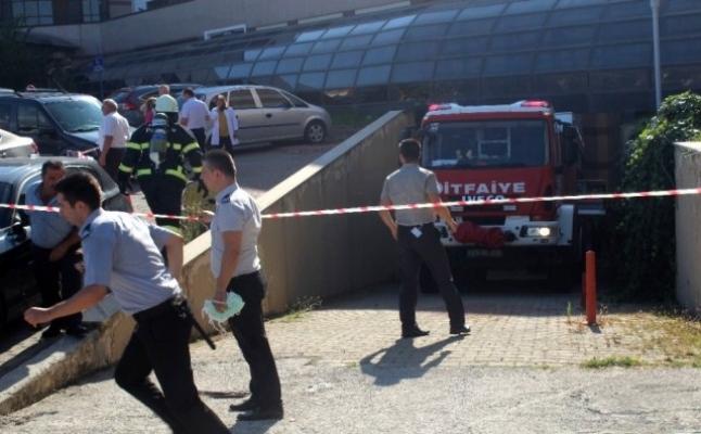 Hastanede yangın çıktı, binada bulunan 27 hasta tahliye edildi