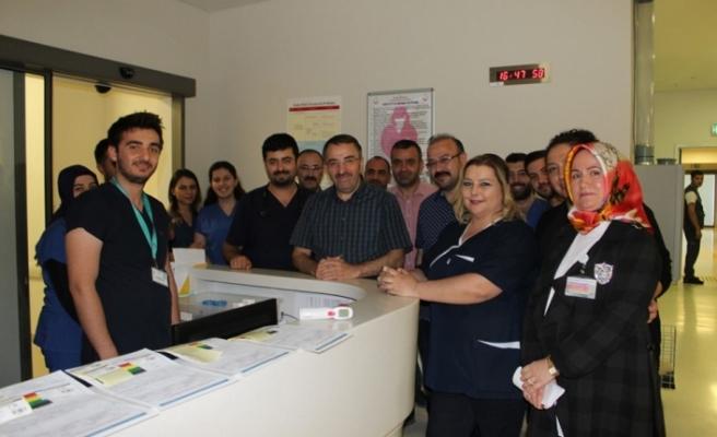 Kamu Hastaneleri Genel Müdürü Yozgat Şehir Hastanesinde