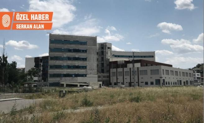 Mamak Devlet Hastanesi inşaatı yarım kaldı