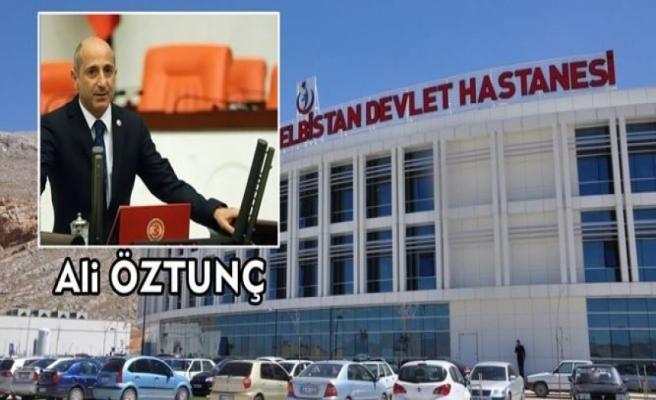 Elbistan Devlet Hastanesi  MERCEK ALTINDA!