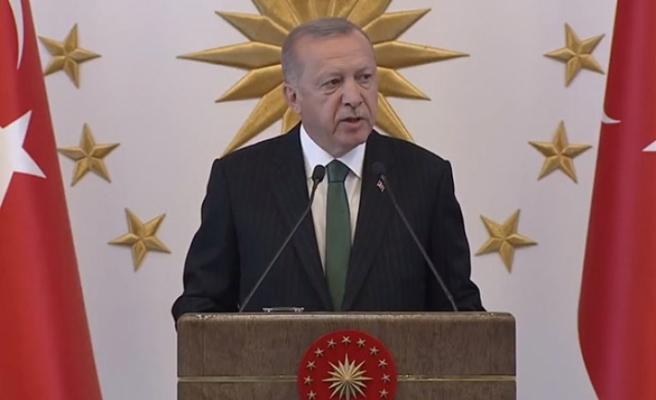 Erdoğan: Göreve geldiğimizde hiç kimseyi ekmeğinden etmedik
