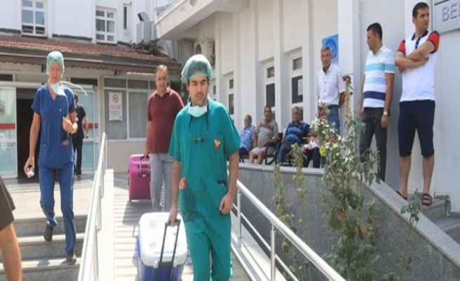 Hastane personeli bağışlanan organlarıyla 4 kişiye umut oldu