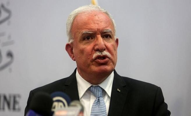 Filistin Dışişleri Bakanı'ndan Barış Pınarı Açıklaması