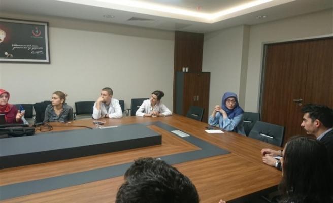 Hekim Nöbet Muafiyet Raporları Değerlendirme Komisyonu Toplantısı