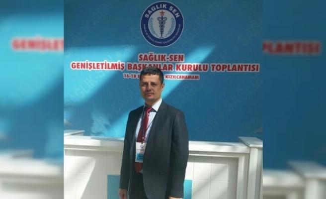 Kırşehir Sağlık Sen Seçiminde Adaylardan biri Çekildi