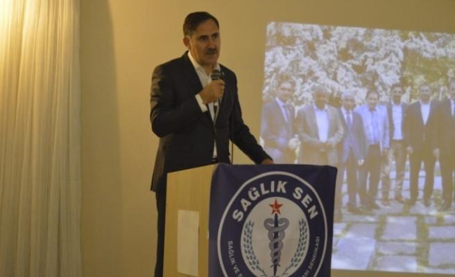 Sağlık Sen Genel Başkanından Açıklamalar