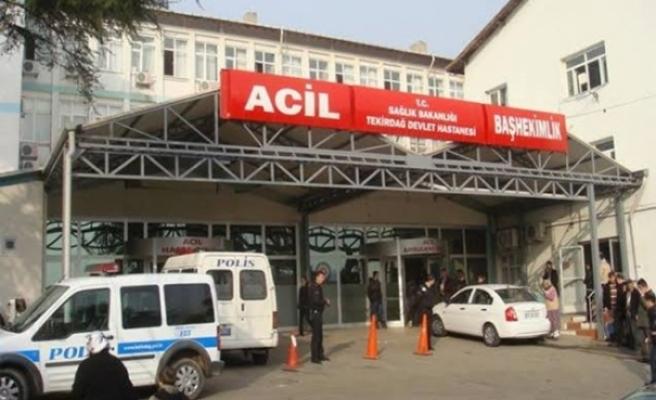 Hastane personeline bıçaklı saldırı