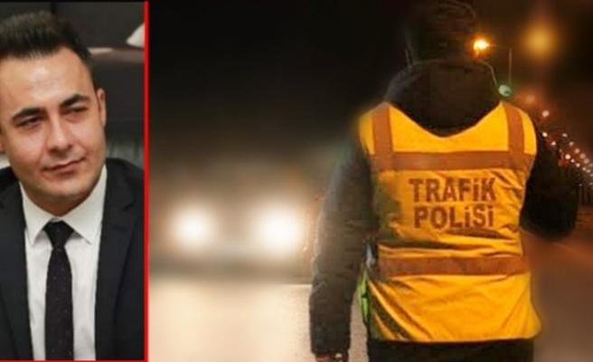 Nazilli'de polis başhekimi alkollü yakaladı... Ehliyetine el konuldu