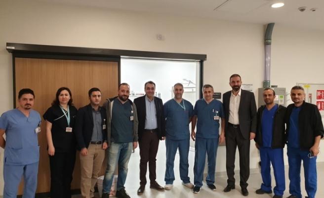 Bursa Sağlık Sen Yılbaşına Sağlık Personeli İle Girdi