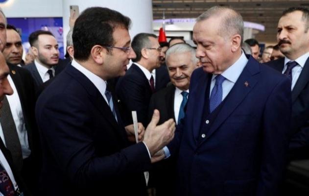 Ekrem İmamoğlu, Erdoğan'a zarf verdi