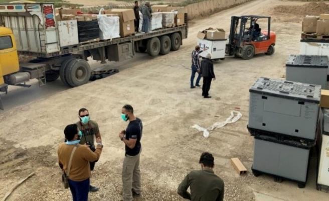ABD PKK'ya sağlık malzemesi gönderdi