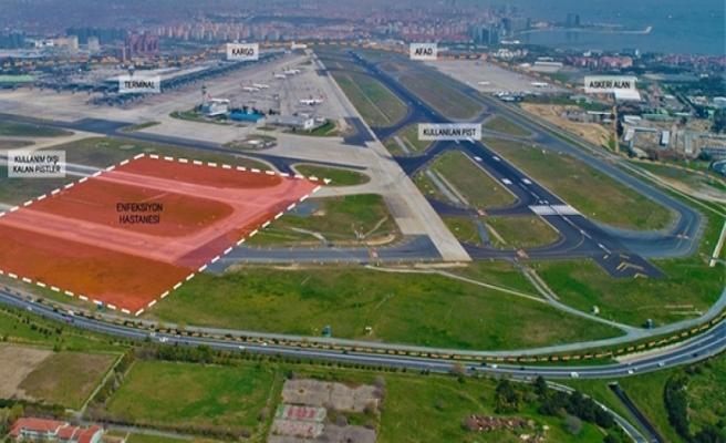 Atatürk Havalimanı'na yapılacak hastane ile ilgili açıklama
