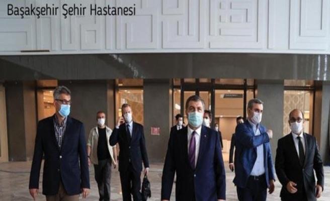 """Koca: """"Başakşehir Şehir Hastanemizin açılışı önümüzdeki Perşembe günü"""""""
