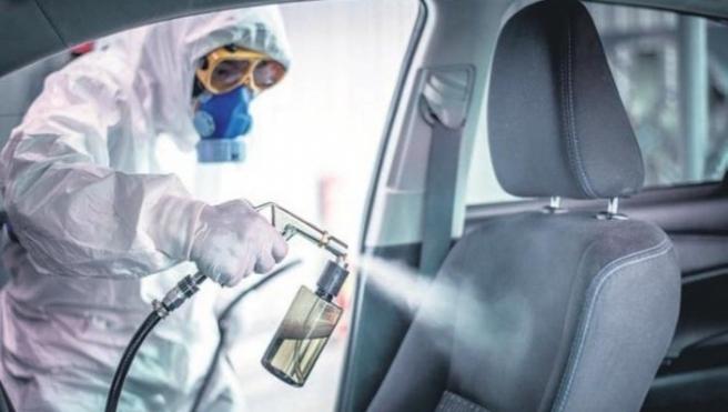 Sağlık çalışanlarına ücretsiz dezenfeksiyon