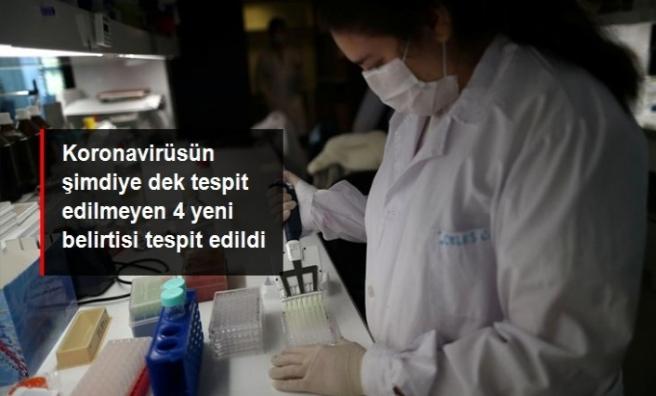 Koronavirüsün 4 yeni belirtisi tespit edildi