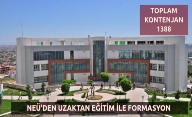 Necmettin Erbakan Üniversitesi'nden Uzaktan Formasyon Programı