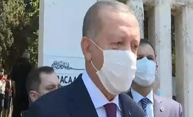 Cumhurbaşkanı Erdoğan'dan 'temizlik, maske, mesafe' uyarısı