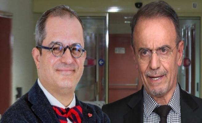 İki ünlü profesörün 'maske' kavgası