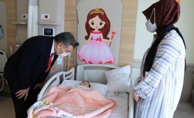Bakan Koca, Erzurum Şehir Hastanesi'ni ziyaret etti