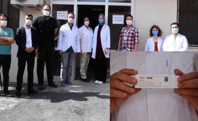 Aşı hastanedeki 32 sağlıkçıya uygulanmaya başlandı!