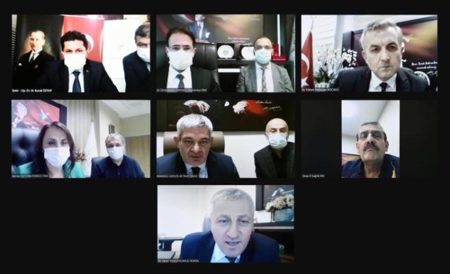 Sağlık Bakanı İl Sağlık Müdürleri İle Görüştü