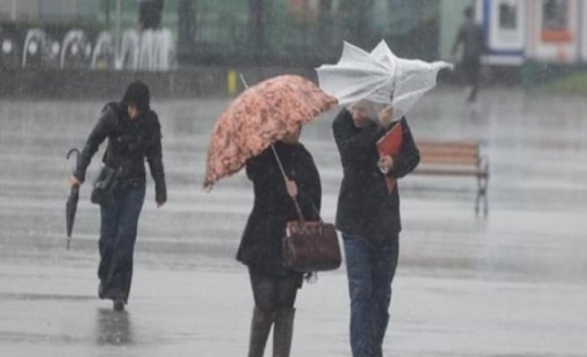 Meteorolojiden 5 il için kuvvetli yağış ve fırtına uyarısı