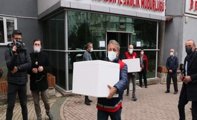 Samsun'da 26 bin doz aşı hastanelere dağıtıldı