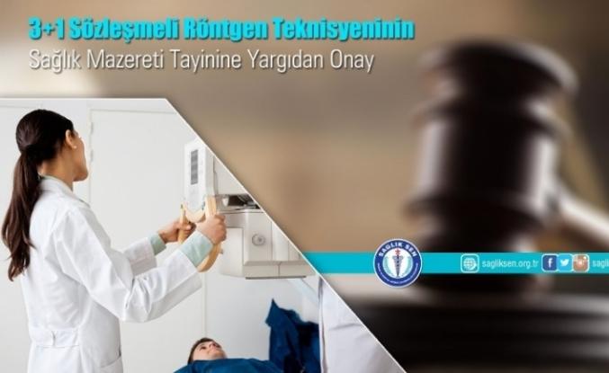 3+1 Sözleşmeli Sağlıkçının Mazeret Tayinine Onay
