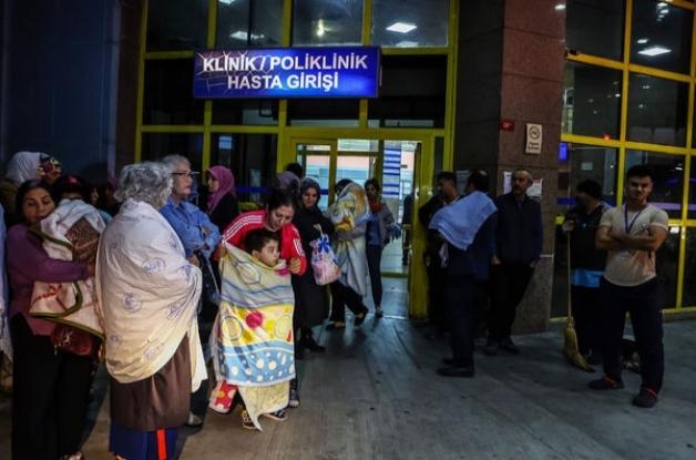 Bakırköy'de korkutan gece