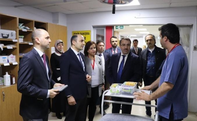 Kamu Hastaneleri Genel Müdürü Samsun'da
