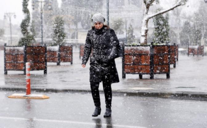 Meteoroloji yarın için uyardı... Sağanak ve kar bekleniyor