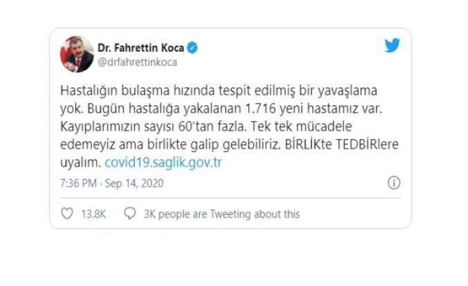 Türkiye'de Son 131 günün en yüksek ölüm sayısı!