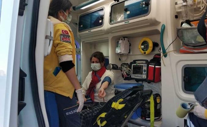 Doktor İle Hemşire Çarpıştı: Hemşire Yaralandı