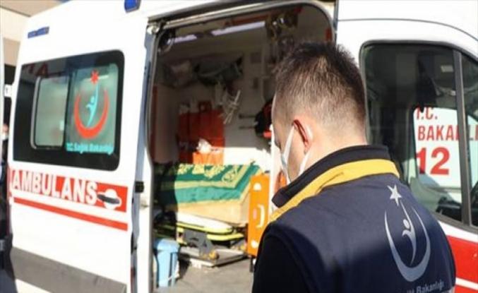 Ambulans şoförü korona nedeniyle hayatını kaybetti