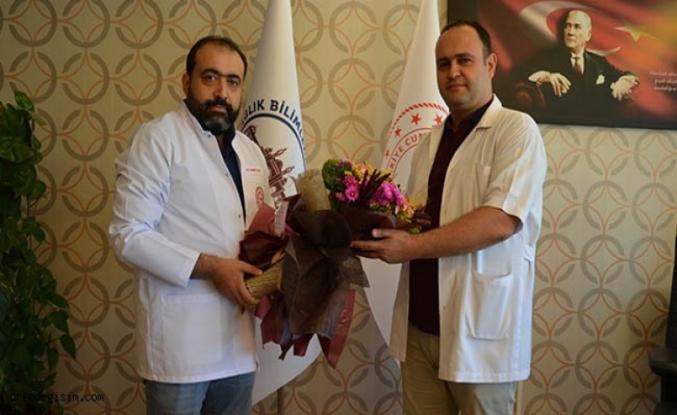 Eğitim ve Araştırma Hastanesi Başhekimi Görevi Devretti